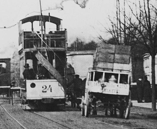 Sporvogn og vogn